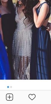 dress,sheer,3d,mesh,prom dress