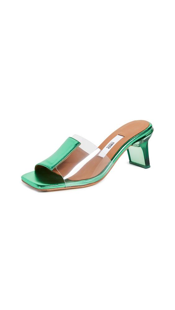Miista Indira Slides in green