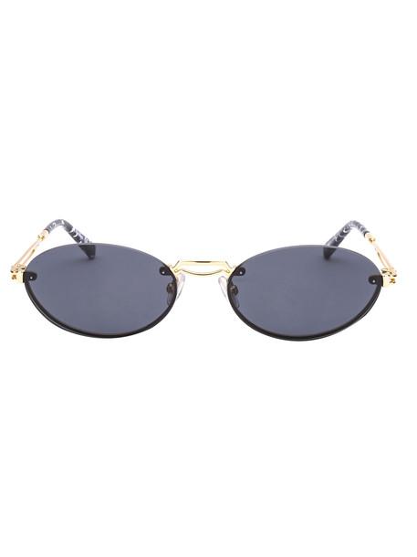 Max Mara Sunglasses in gold / yellow