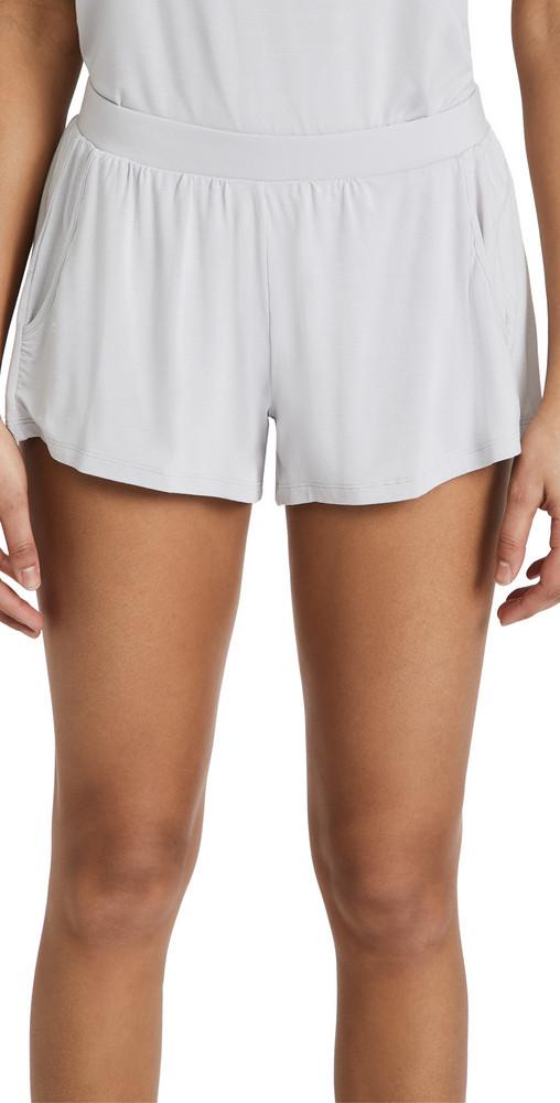 Eberjey The Not So Basic Finley Shorts in grey