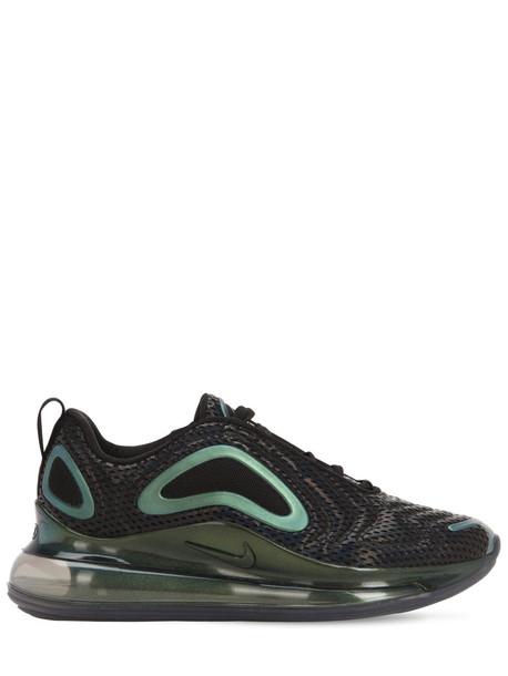 NIKE Air Max 720 Sneakers in black / metallic