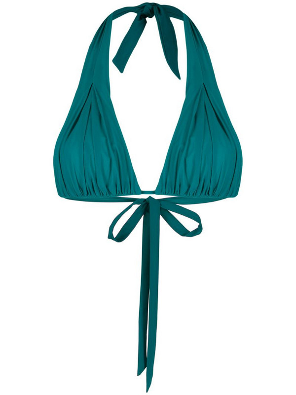 Carine Gilson soft triangle top in green