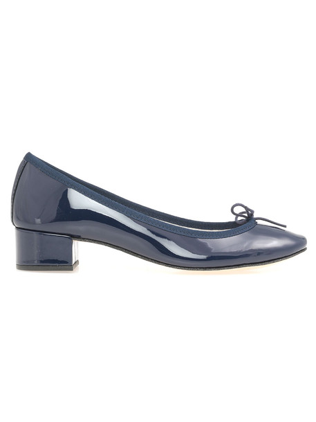 Repetto Camille Ballet Shoe in navy