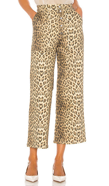 Capulet Lottie Jeans in denim / leopard / denim