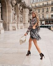 dress,open back dresses,mini dress,sandal heels,sandals,bag,date outfit