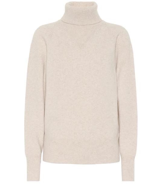 Joseph Wool-blend turtleneck sweater in beige