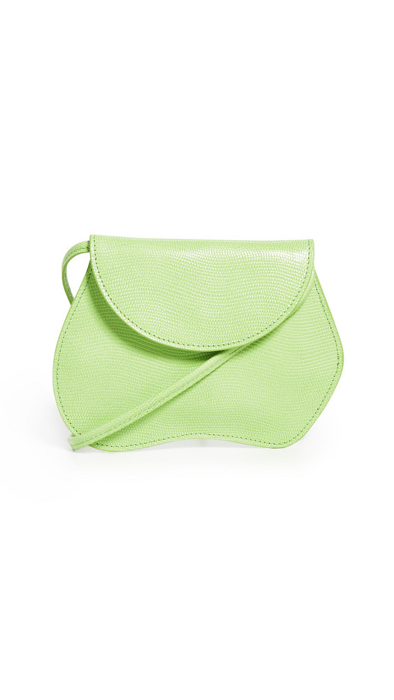 Little Liffner Pebble Micro Bag in green
