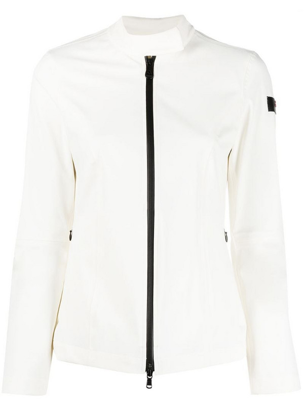 Peuterey moto jacket in white
