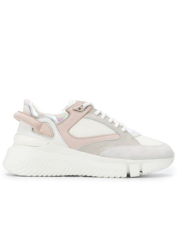 Buscemi lace-up platform sneakers in neutrals