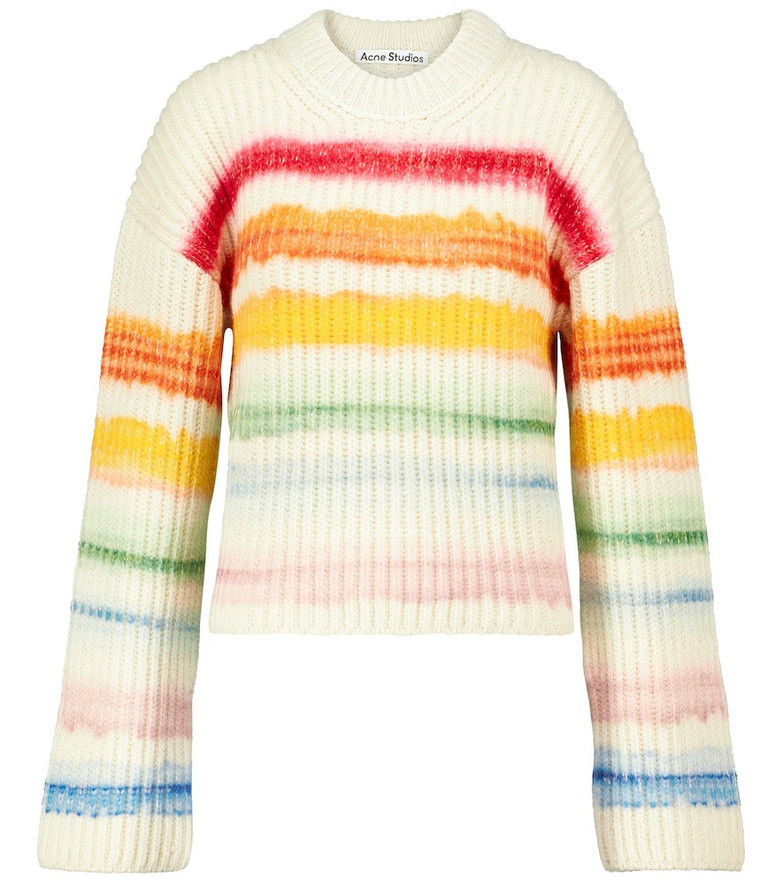 Acne Studios Striped wool-blend sweater