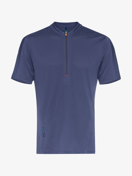 Soar blue Sierra half-zip T-shirt
