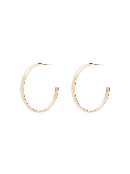 Zoë Chicco 14kt yellow gold large hoop earrings