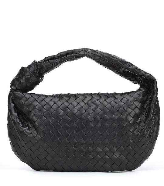 Bottega Veneta BV Jodie Medium intrecciato leather tote in black