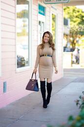 stylish petite,blogger,dress,belt,shoes,bag