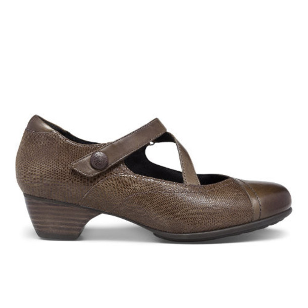 Aravon Portia-AR Women's Casuals Shoes - Brown (AAZ09BRM)