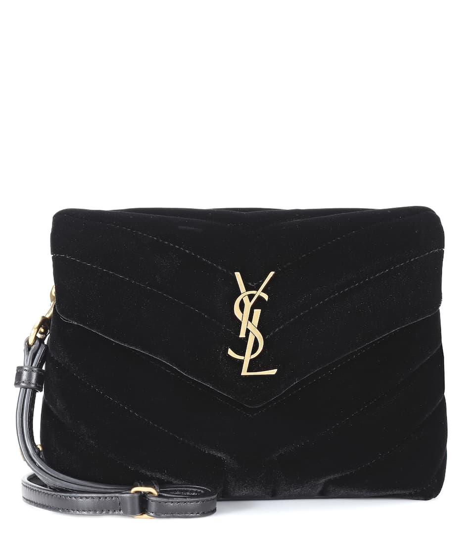 Toy Loulou velvet shoulder bag