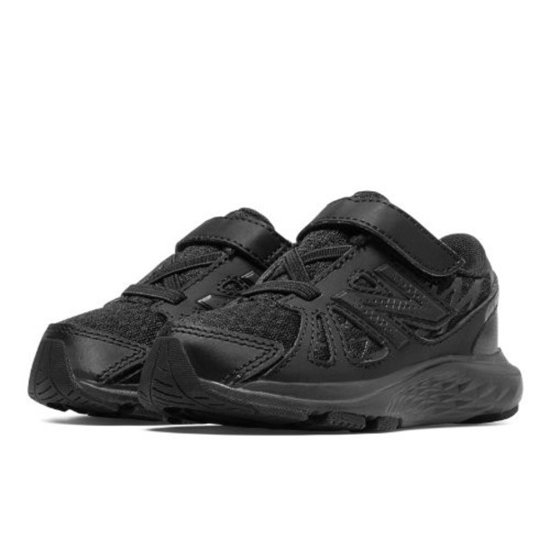 New Balance 690v4 Kids' Infant Running Shoes - Black (KV690TBI)