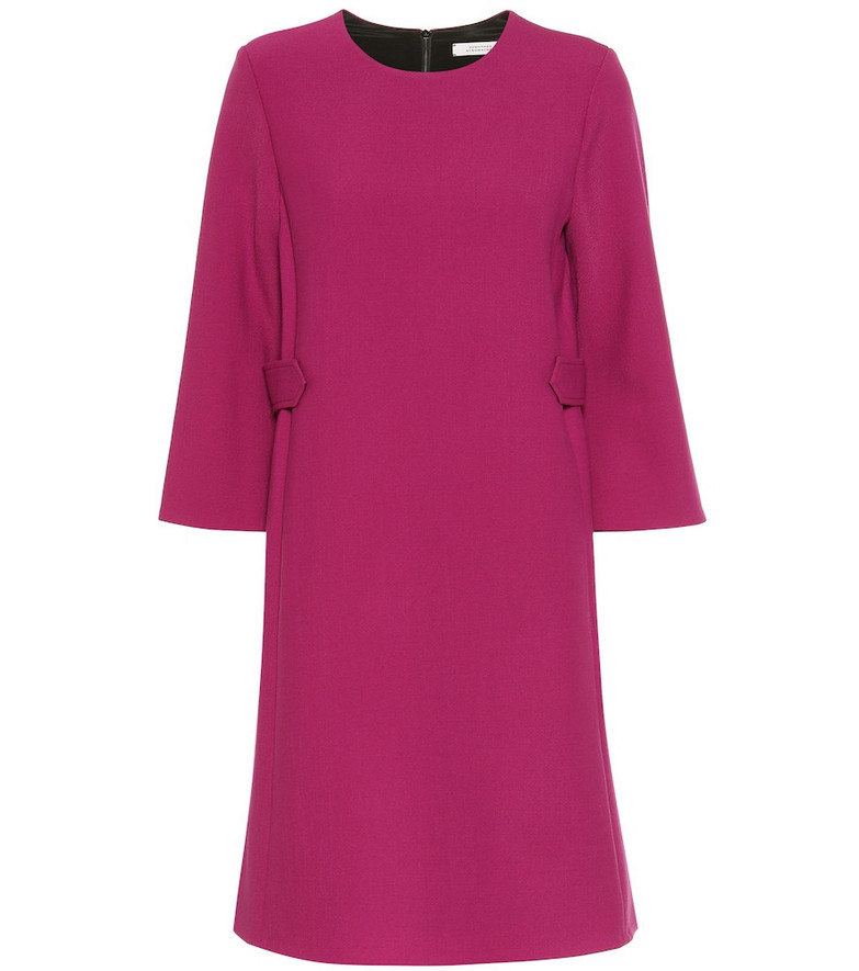 Dorothee Schumacher Business Perfection wool-blend dress in pink