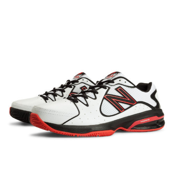 New Balance 786 Men's Shoes - White/Black/Red (MC786WR)