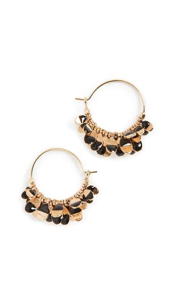 Isabel Marant New Leaves Earrings in black