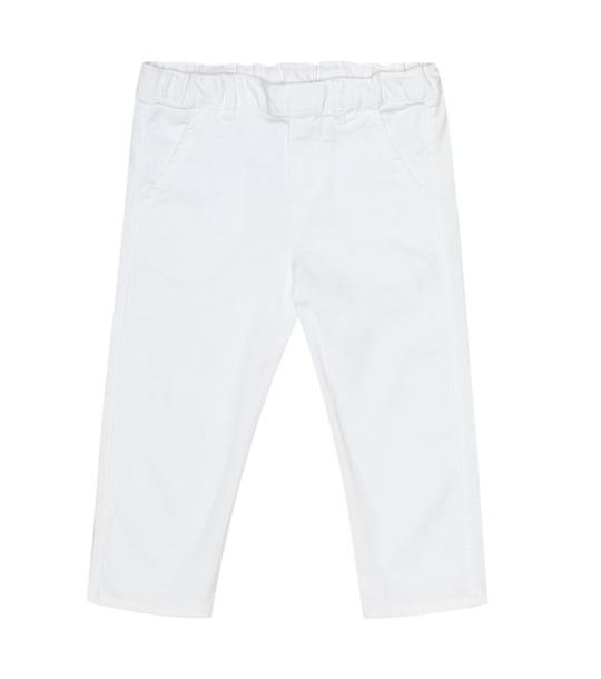 Tartine et Chocolat Baby cotton pants in white