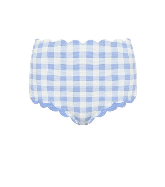 Marysia Exclusive to Mytheresa – Santa Monica Reversible bikini bottoms in blue