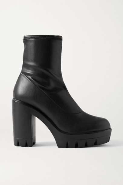 Giuseppe Zanotti - Blaze Stretch-leather Sock Boots - Black