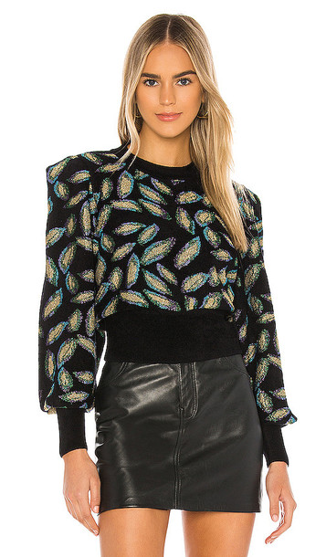 Ronny Kobo Benedetta Sweater in Abstract in multi