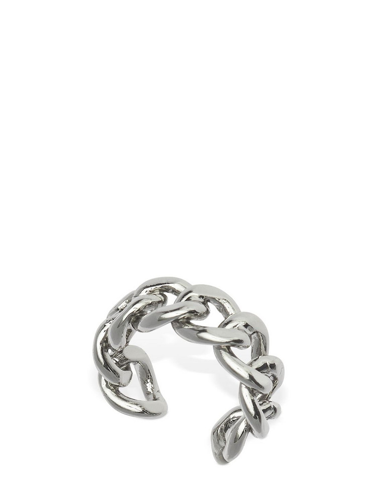 FEDERICA TOSI Chain Adjustable Ring in silver