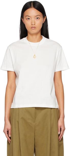 Studio Nicholson White Marine Perfect T-Shirt