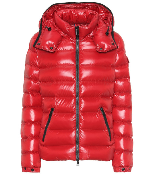 Moncler Bady down jacket in red