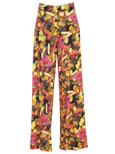 Ultrachic Fruit Print Trousers