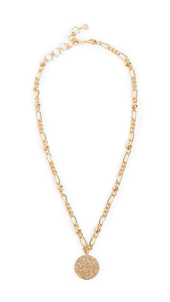 Gorjana Banks Coin Necklace in gold