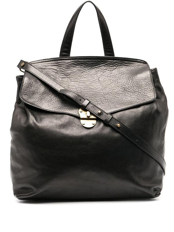 Officine Creative top-handle crossbody bag in black