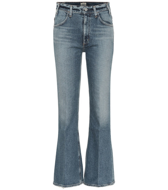 Citizens of Humanity Amelia high-rise bootcut jeans in blue