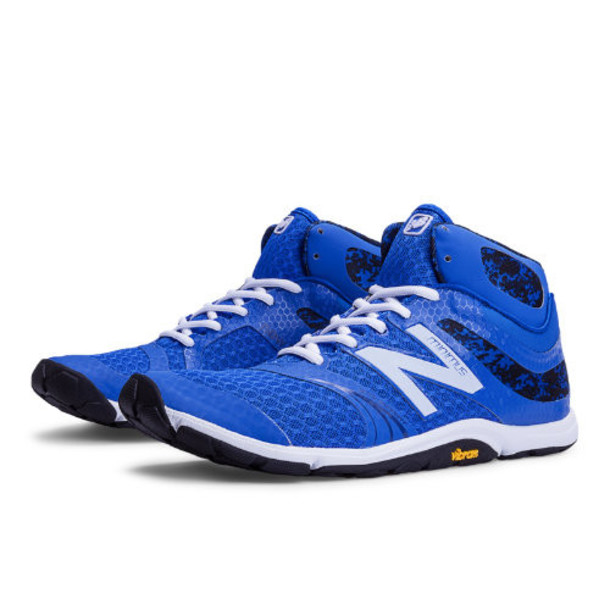 New Balance Minimus 20v3 Mid-Cut Cross-Trainer Men's High-Intensity Trainers Shoes - Blue, White (MX20MK3)