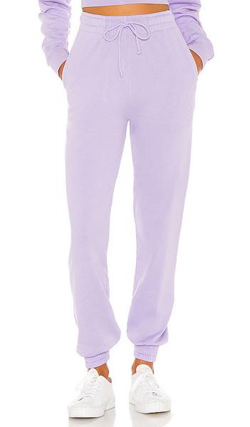 Frankies Bikinis Frank Sweatpant in Purple in lilac