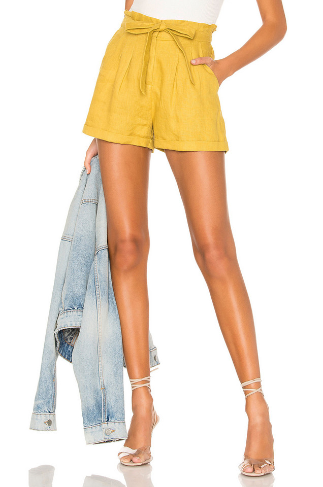 HEARTLOOM Piper Short in yellow