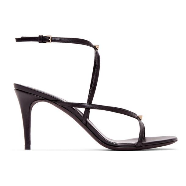 Valentino Black Valentino Garavani Strap Sandals