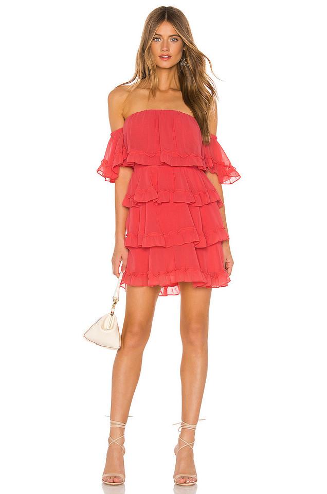 MISA Los Angeles Famke Dress in pink