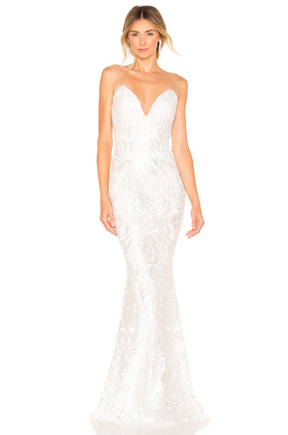 Katie May X NOEL AND JEAN The Lady Gown in white
