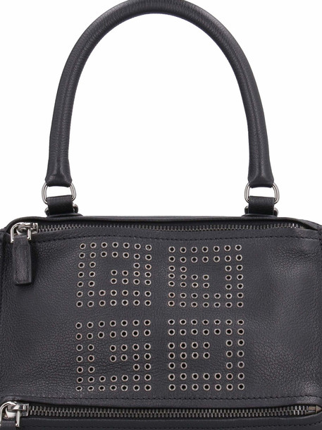 Givenchy Leather Pandora Small Handbag With Studs in black