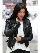coat,women,womenwear,outfit,outfit idea,fashion,trendhoop,kim kardashian style,jacket