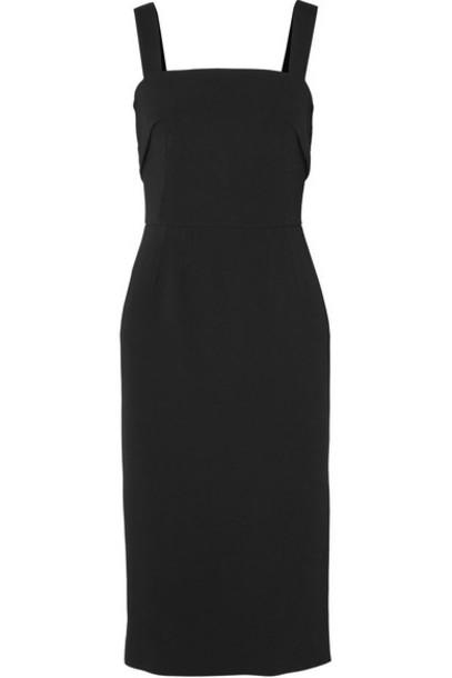 Dolce & Gabbana - Crepe Midi Dress - Black