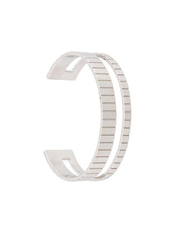 IVI Slot cuff bracelet in silver