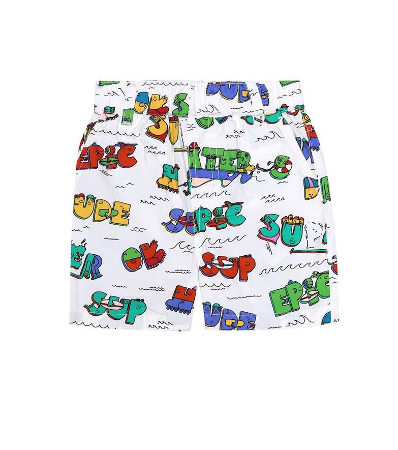 Stella McCartney Kids Baby printed cotton shorts