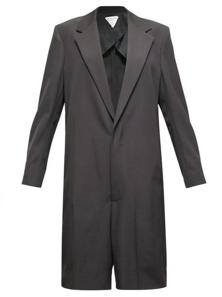 Bottega Veneta - Single-breasted Twill Playsuit - Womens - Black