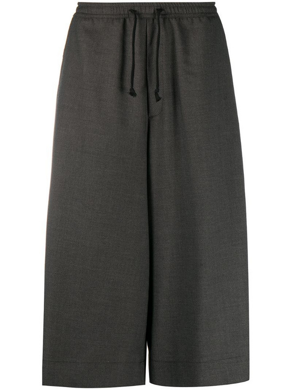 Société Anonyme wide-leg cropped trousers in grey