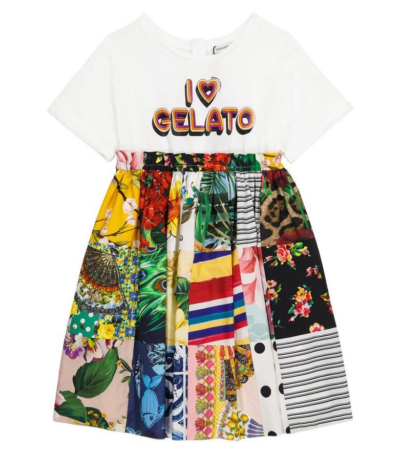 Dolce & Gabbana Kids Printed cotton dress