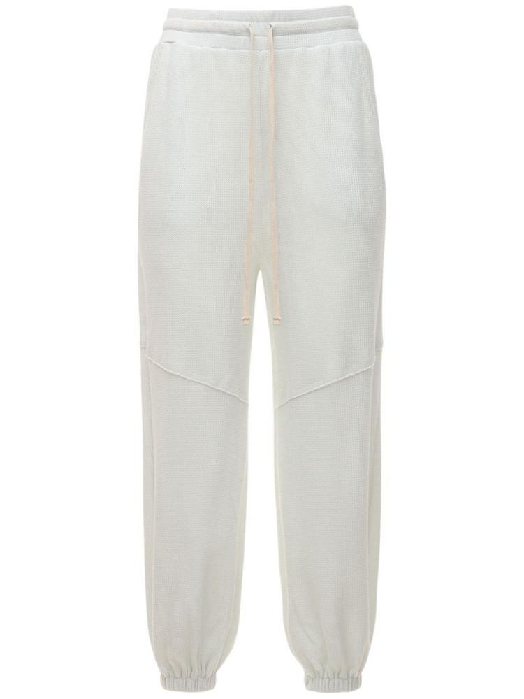 TWENTY MONTRÈAL Everest Baggy Thermal Pants in white